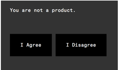 ello - you are not a product